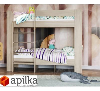 Кровать двухъярусная София К2 с матрасами